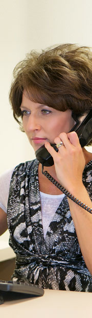 person on a phone call